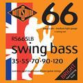 Rotosound Swing Bass Jeu de 5 cordes pour basse Acier inoxydable Filet rond Tirant medium light (35 55 70 90 120) (Import Royaume Uni)