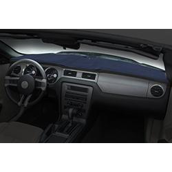 Coverking Custom Fit Dashcovers for Select Oldsmobile Custom Cruiser Models - Poly Carpet (DK Blue)