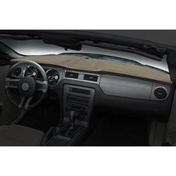 Coverking Custom Fit Dashcovers for Select Oldsmobile Custom Cruiser Models - Poly Carpet (Beige)