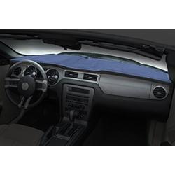Coverking Custom Fit Dashcovers for Select Oldsmobile Custom Cruiser Models - Poly Carpet (Medium Blue)