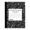 BAZIC C/R 100 Ct. Black Marble Composition Book (Case of 48)