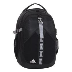 adidas Barker Backpack, Black/Aluminum Grey 2, One Size Fits All