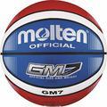 Molten Top Training Ballon de Basketball Bleu/Rouge/Blanc Taille 7