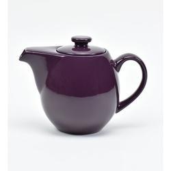 Omniware Teaz 0.75-qt. Teapot w/ Infuser Stoneware/Terracotta in Indigo, Size 5.5 H x 7.25 W x 4.5 D in   Wayfair 1508865