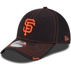 New Era San Francisco Giants Black Neo 39THIRTY Stretch Fit Hat