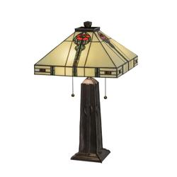 Meyda Lighting Parker Poppy 23 Inch Table Lamp - 70965