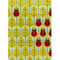 Momeni Rugs Lil' Mo Whimsy Collection, Kids Themed Hand Carved & Tufted Area Rug, 3' x 5', Lady Bug Red