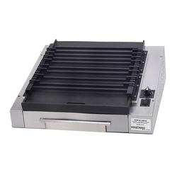 Gold Medal 8162 Small Slanted Grilla Reciprocating Grill w/ EZ Kleen Flat Surface, 120v
