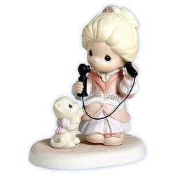 Precious Moments Just An Old Fashioned Hello Figurine by Precious Moments