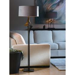 "Hubbardton Forge Antasia 59"" Floor Lamp Metal in Orange/Gray, Size 58.6 H x 18.0 W x 18.0 D in   Wayfair 232810-08-503"