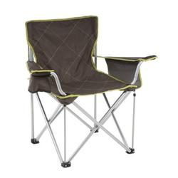 Travel Chair Folding Camping Chair Metal in Brown/White, Size 36.0 H x 38.0 W x 23.0 D in | Wayfair 599LM