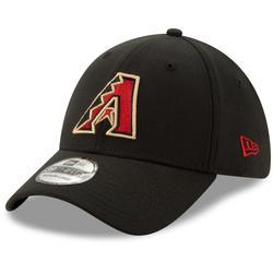 """Men's New Era Black Arizona Diamondbacks Game Team Classic 39THIRTY Flex Hat"""