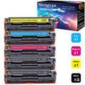 Mengyan Compatible H-P125A / CB540A Toner Cartridge Compatible with H-P Color LaserJet CM1312 MFP, Color LaserJet CM1312nfi, Color LaserJet CP1215, Color LaserJet CP1515n, Color LaserJet CP1518ni Ink