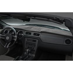 Coverking Custom Fit Dashcovers for Select Ford Custom 500/Galaxie 500 Models - Suede (Gray)