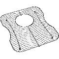 "Elkay LKWOBG1416SS 12-1/2"" L x 14-3/8"" W Stainless Steel Basin Rack Stainless Steel"