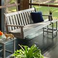"POLYWOOD® Vineyard 60"" Porch Swing, Plastic in Slate Grey, Size 23""H X 60""W X 24""D 