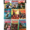 NINE BOOKS FROM ILLUSTRATED CLASSICS! Anne of Green Gables, Rebecca of Sunnybrook Farm, Moby Dick, Peter Pan, Oliver Twist, a Little Princess, Treasure Island, the Adventures of Robin Hood, 20,000 Leagues Under the Sea (Treasury of Illustrated Classics)