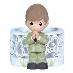 Precious Moments First Holy Communion LED Figurine Boy Figurine