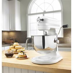 "KitchenAid KitchenAid® Professional 600 Series 6 Quart Bowl-Lift Stand Mixer in White, Size 16""-19""H X 7""-17""W X 9""-14""D | Wayfair KP26M1XWH"
