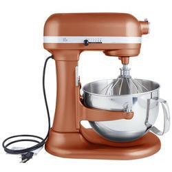 KitchenAid Professional 600 Series 10 Speed 6 Qt. Stand Mixer, Size 17.0 H x 7.25 W x 14.6 D in   Wayfair KP26M1XCE