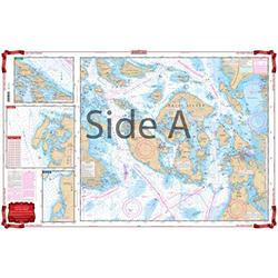 Waterproof Charts, Standard Navigation, 43 San Juan Islands