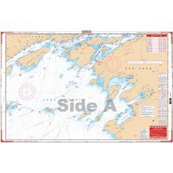Waterproof Charts, Standard Navigation, 141 N.E. Lake Ontario Kingston & Bateau Channel