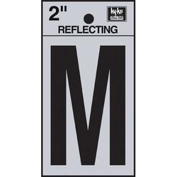 Hy-Ko 3 in. Sticker House LetterVinyl in Black/Gray, Size 3.0 H x 1.2 W x 0.01 D in | Wayfair RV-25/M