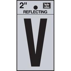 Hy-Ko 3 in. Sticker House LetterVinyl in Black/Gray, Size 3.0 H x 1.2 W x 0.01 D in | Wayfair RV-25/V