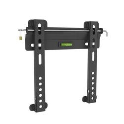 """dCOR designFixed Wall Mount Holds up to 50 lbs in Black, Size 10""""H X 10""""W 
