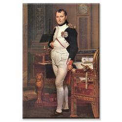 Buyenlarge Portrait of Napoleon in His Work Room by Jacques-Louis David Photographic Print on Wrapped CanvasCanvas & Fabric in White | Wayfair