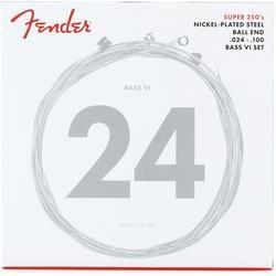 Fender Super 250B6 Nickel Plated Steel Bass VI Electric Strings