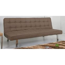 """Gold Sparrow Vegas 71.26"""" Wide Tufted Back Convertible Sofa Wood/Solid Wood in Brown, Size 31.1 H x 71.26 W x 32.28 D in   Wayfair"""