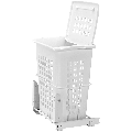 Rev-A-Shelf HPRV-1925DMS HPRV Series Pull Out Hamper with Lid and Full-Extension Slides for 20 Inch