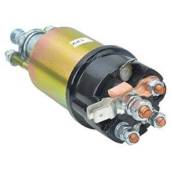 Complete Tractor 1100-0205 Solenoid Compatible with/Replacement for Ford Holland Tractor - D7Nn11390B, Massey Ferguson Tractor 1744S 1844, 3473937M91, Case/International Tractor 1490 1494 1594 1690