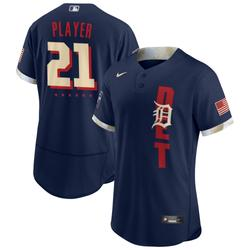 """""""Men's Nike Navy Detroit Tigers 2021 MLB All-Star Game Custom Authentic Jersey"""""""