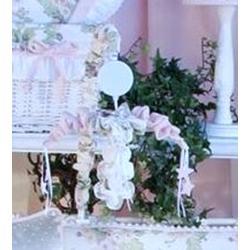 Brandee Danielle Flower Medley Musical MobileFabric in White, Size 18.0 H x 15.0 W x 15.0 D in | Wayfair L06MBFM