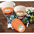 Bloem Ups A Daisy Planter Insert LinerPlastic in Orange, Size 1.0 H x 17.0 W x 17.0 D in | Wayfair T6327