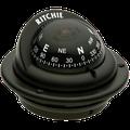 """""""RITCHIE COMPASSES TR-35 Compass, Flush Mount, 2.25"""""""" Dial, Black"""""""