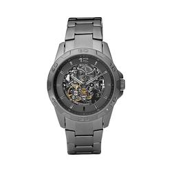 Relic by Fossil Men's Stainless Steel Automatic Skeleton Watch, Size: Large, Grey
