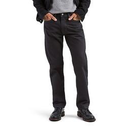 Men's Levi's 505 Regular Jeans, Size: 34X34, Black