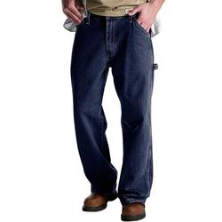 Men's Dickies Relaxed Fit Denim Carpenter Jeans, Size: 40 X 32, Blue