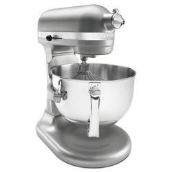 KitchenAid Professional 600 Series 10 Speed 6 Qt. Stand Mixer in Gray, Size 17.0 H x 7.25 W x 14.6 D in | Wayfair KP26M1XNP