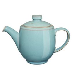 Denby Azure 1.13-qt. Teapot Stoneware/Terracotta in Blue | Wayfair AZR-091