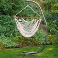 Algoma Hanging Rope Chair - Indoor & Outdoor, Multicolor
