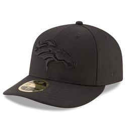 Men's New Era Denver Broncos Black on Low Profile 59FIFTY Fitted Hat