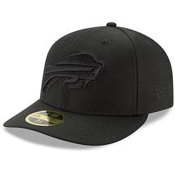 Men's New Era Buffalo Bills Black on Low Profile 59FIFTY Fitted Hat