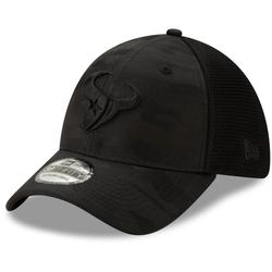 Men's New Era Black Houston Texans Camo Front Neo 39THIRTY Flex Hat
