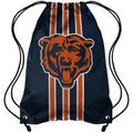 Chicago Bears FOCO Team Stripe Drawstring Backpack
