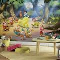 RoomMates JL1281M Disney Princess Snow White And The Seven Dwarfs Water Activated Removable Wallpaper Mural - 10.5 ft. x 6 ft.