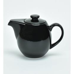 Omniware Teaz 0.75-qt. Teapot w/ Infuser Stoneware/Terracotta in Black, Size 5.5 H x 7.25 W x 4.5 D in   Wayfair 1508887